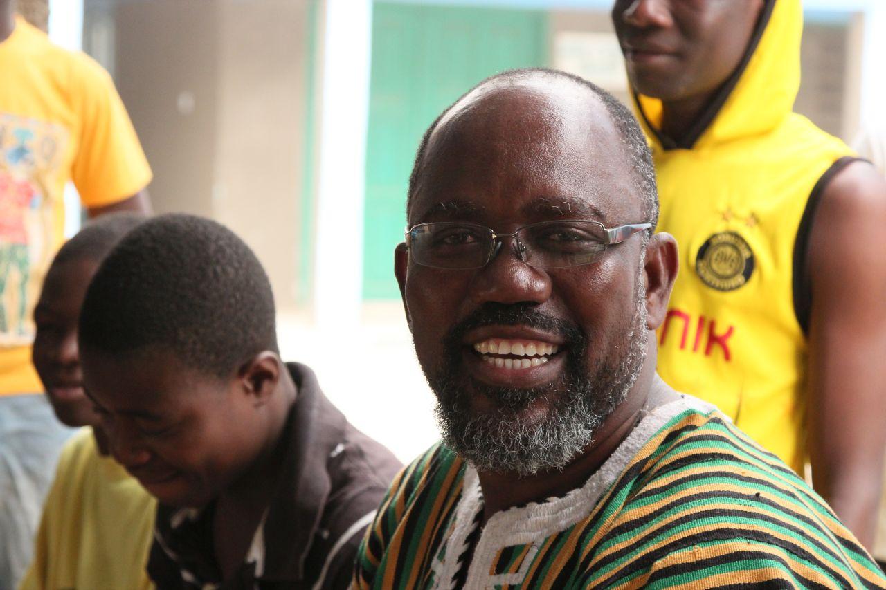 Fred Amenga-Etego die treibende Kraft und gute Seele des Centre for Child Development
